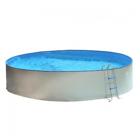 Piscina TRENCADÍS CIRCULAR 400x90 cm Filtro cartucho 2 m³/h. piscina desmontable