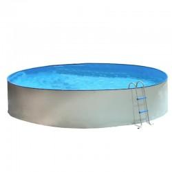 Piscina ÉTNICA OVALADA 730x366x120 cm Filtro 3,6 m³/h. piscinas desmontables
