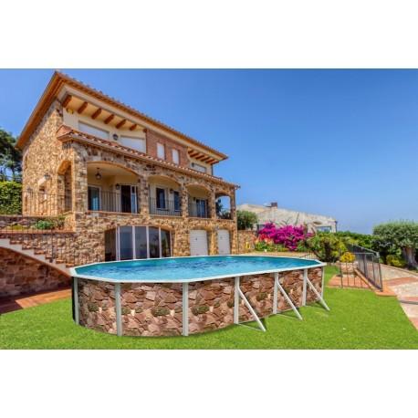 Piscina VETA CIRCULAR 510x120 cm Filtro 3,6 m³/h piscinas desmontables