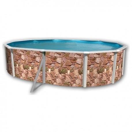 Piscina VETA CIRCULAR 350x120 cm Filtro 3,6 m³/h piscinas desmontables