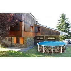 PRESTIGIO OVALADA 730x366x132 cm Filtro 8 m³/h piscinas desmontables