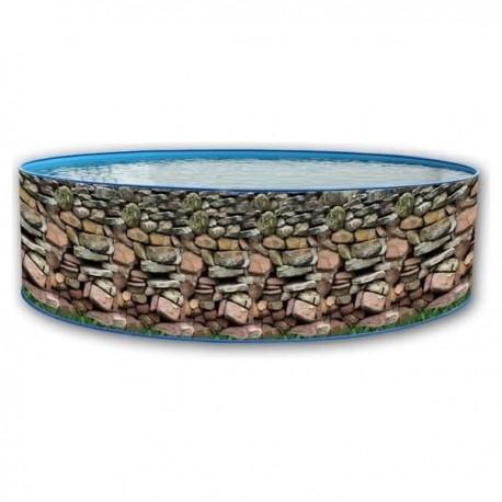 PRESTIGIO CIRCULAR 460x132 cm - filtro 8 m³/h piscinas desmontables