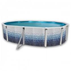 Cubierta 250 OCTOGONAL para piscinas desmontables