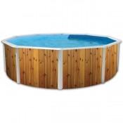 Liner 550x366x120 cm piscina OVALADA