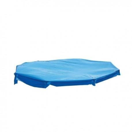 Escalera de 4 peldaños para piscinas de 90 cm