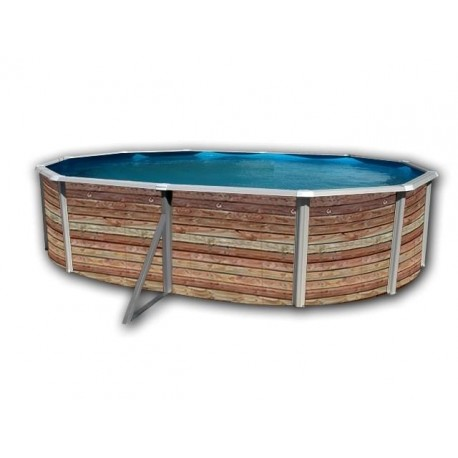 Piscina PINUS CIRCULAR 350x120 cm Filtro 3,6 m³/h. piscina desmontable