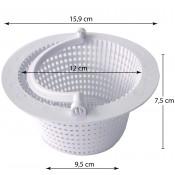 CABEZAL SELECTOR 4 vías filtros piscinas desmontables