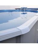 PRESTIGIO OVALADA 550x366x120 cm Filtro 8,5  m³/h