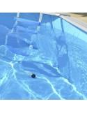 piscina IBIZA OVALADA 550x366x132 cm Filtro 6 m³/h piscinas desmontables