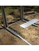 Piscina ELEGANCE LUNA CIRCULAR 350x120 skimmer filtrante 3,6 m³/h piscina desmontable
