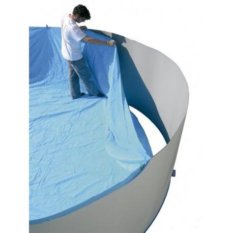 SILLA PLEGABLE DE ALUMINIO CRESPO 31 cm. VERDE multifibra para piscina y playa