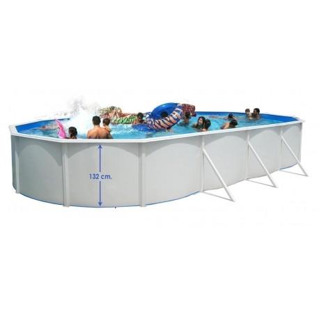 SILLA PLEGABLE DE ALUMINIO CRESPO BEIGE 41 cm para piscina y playa