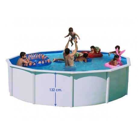 SILLA PLEGABLE DE ALUMINIO CRESPO MORADO 41 cm para piscina y playa