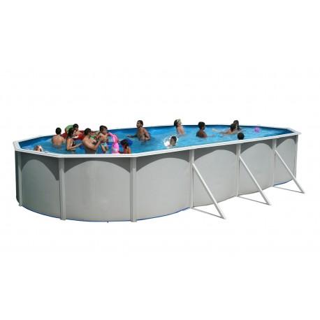 SILLA PLEGABLE DE ALUMINIO 17 cm. BEIGE multifibra para piscina y playa