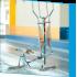SILLA PLEGABLE DE ALUMINIO 30 cm. AZUL Multifibra para piscina y playa