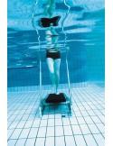 SILLA PLEGABLE DE ALUMINIO 30 cm. MORADOMultifibra para piscina y playa
