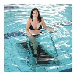 CAMA JARDÍN XL BEIGE para piscina y playa