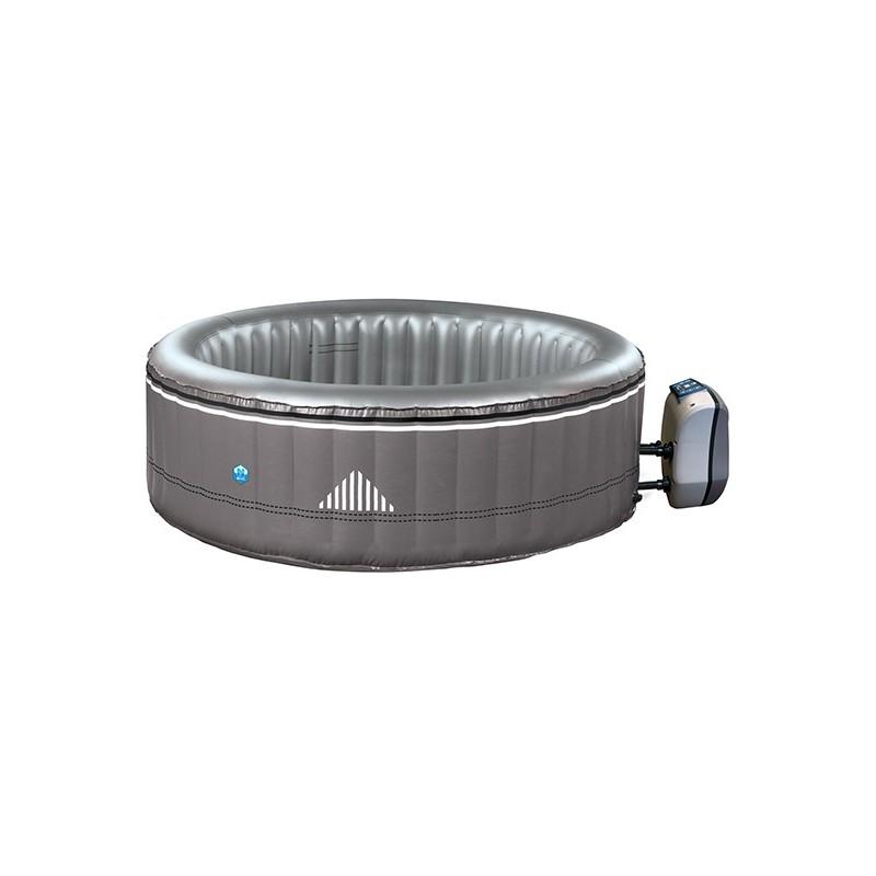 Silla cama plegable de aluminio 17 cm verde multifibra for Sillas para piscina