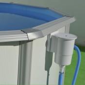 Ducha solar COBRA - 32 Litros Color azul para piscinas