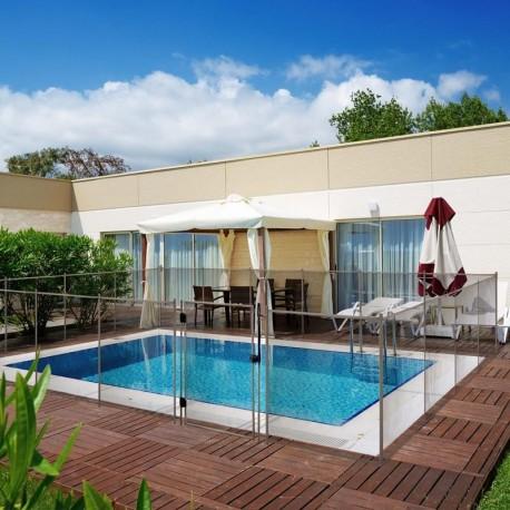 Liner para piscina ovalada de 120cm