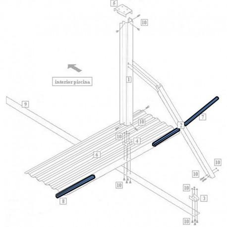 Estufa para sauna HARVIA Vega Compact 3.5kW