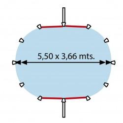 SN-HARVIA-PO60 Estufa para sauna HARVIA Vega 6kW BC60 Para casas sin calefacción activa