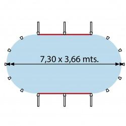 SN-AC-ROCK Piedras para estufa electica de sauna Harvia 20kg Ø 5-10 cm