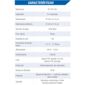 Liner 915x457x120 OVALADA ESPESOR ESPECIAL