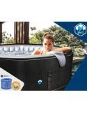 MAGNUM COMPACTA CIRCULAR 350x132 cm Filtro 3,6 m³/h piscinas desmontables