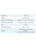 Piscina MALLORCA OVALADA 1200x457x120 cm Filtro 10 m³/h piscinas desmontables