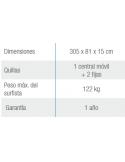 Piscina MALLORCA OVALADA 730x366x120 cm Filtro 3,6 m³/h piscinas desmontables