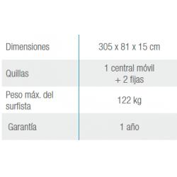 Piscina MALLORCA OVALADA 730x366x120 cm Filtro 3,6 m³/h