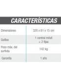 Piscina CANARIAS CIRCULAR 350x120 cm Filtro 3,6 m³/h Piscinas desmontables
