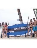 Piscina CANARIAS CIRCULAR + kit verano 550x120 cm Filtro 3,6 m³/h piscina desmontable