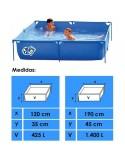 Serie ELEGANCE OVALADA 915x457x120 cm Filtro 6 m³/h piscinas desmontables