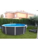 Kit Verano 550x366 cm piscina desmontable OVALADA