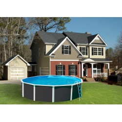 Ducha solar COBRA - 32 Litros Color antracita para piscinas