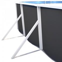 Piscina MAGNUM CIRCULAR 550x132 cm Filtro 6 m³/h piscinas desmontables