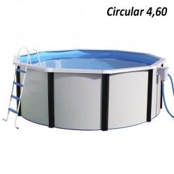 Piscina MAGNUM OVALADA 730x366x132 cm Filtro 8 m³/h piscinas desmontables