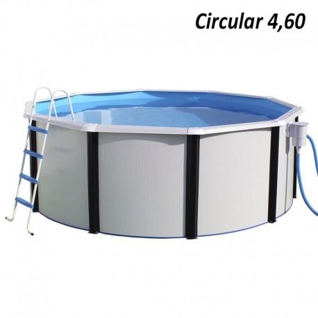 Piscina MAGNUM OVALADA 730x366x132 cm Filtro 8,5 m³/h piscinas desmontables
