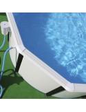 Piscina MAGNUM OVALADA 550x366x132 cm Filtro 6 m³/h piscinas desmontables