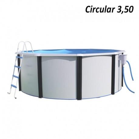 Piscina MAGNUM CIRCULAR 460x132 cm Filtro 6 m³/h piscinas desmontables