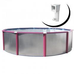 MAGNUM COMPACTA OVALADA 550x366x132 cm Filtro 3,6 m³/h piscinas desmontables