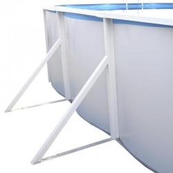 Piscina ROCALLA CIRCULAR 350x120 cm Filtro 3,6 m³/h. piscinas desmontables