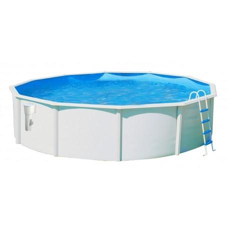 Piscina OCÉANO CIRCULAR 550x120 cm Filtro 3,6 m³/h. piscinas desmontables