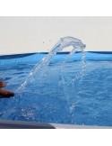 Piscina OCÉANO CIRCULAR 350x120 cm Filtro 3,6 m³/h. piscinas desmontables
