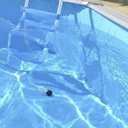 Piscina OCÉANO CIRCULAR 400x90 cm Filtro cartucho 2 m³/h. piscinas desmontables