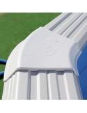Piscina MURO CIRCULAR 350x90 cm Filtro cartucho 2 m³/h. piscina desmontable