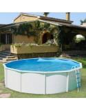 Piscina TRENCADÍS OVALADA 730x366x120 cm Filtro 3,6 m³/h. piscina desmontable