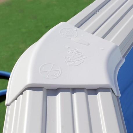 Serie Trencadis ovalada 640x366x120 cm. - Filtro 3,6 m³/h.